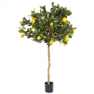 Artificial Golden Lemon Tree 90cm
