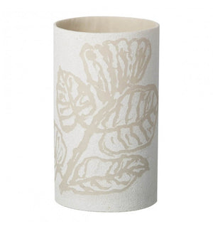 Plana Tealight Holder White Large