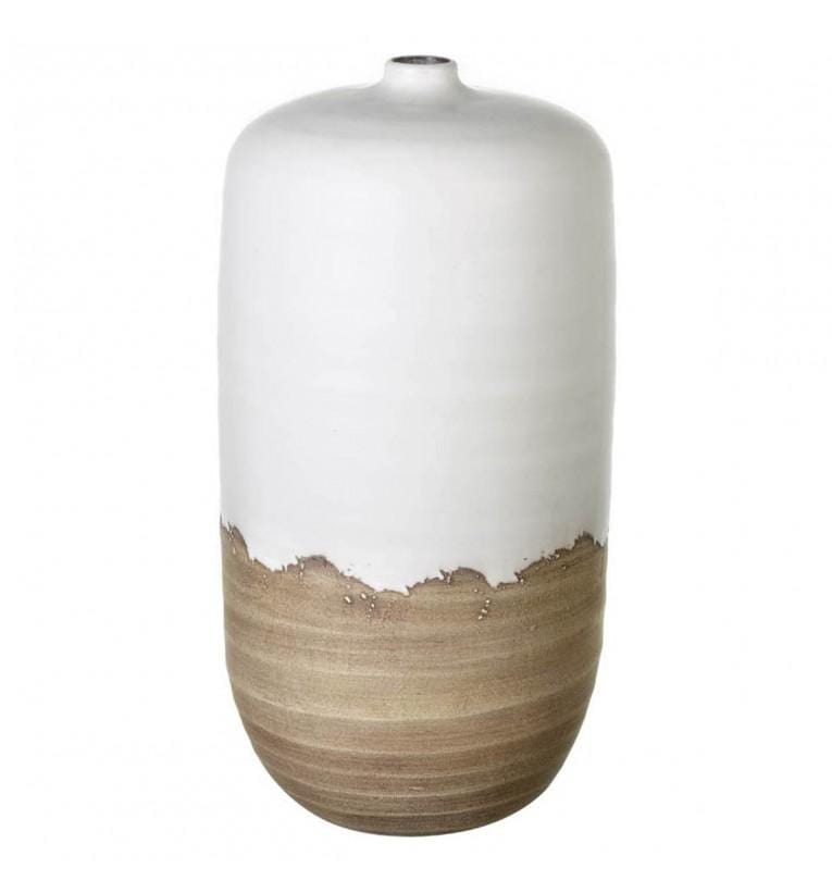 Johnson Vase White & Natural - House of Isabella AU