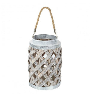 Zahara Lantern Willow & Metal