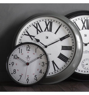 Concord Clock Light Grey