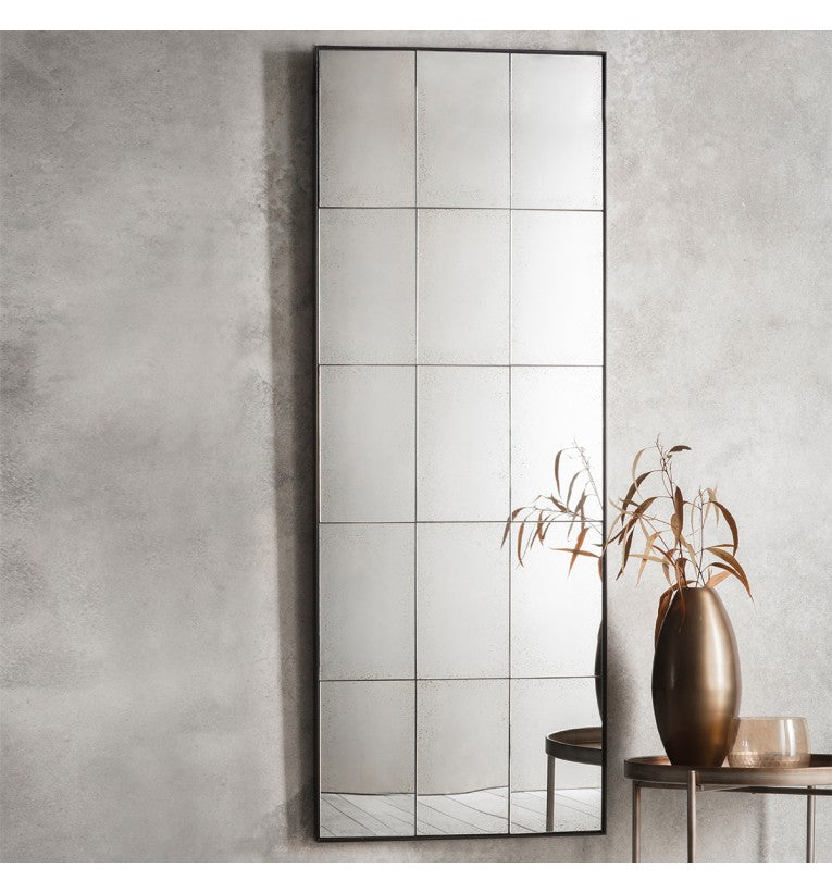 Moore Rectangle Mirror 620x30x1600mm - House of Isabella AU