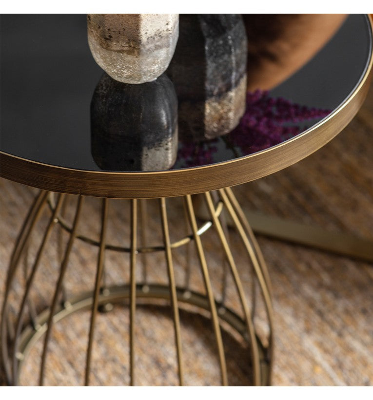 Venray Side Table Bronze