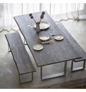Hunter Dining Table Grey