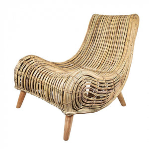 Haiti Rattan Chair Lounge 73x98D