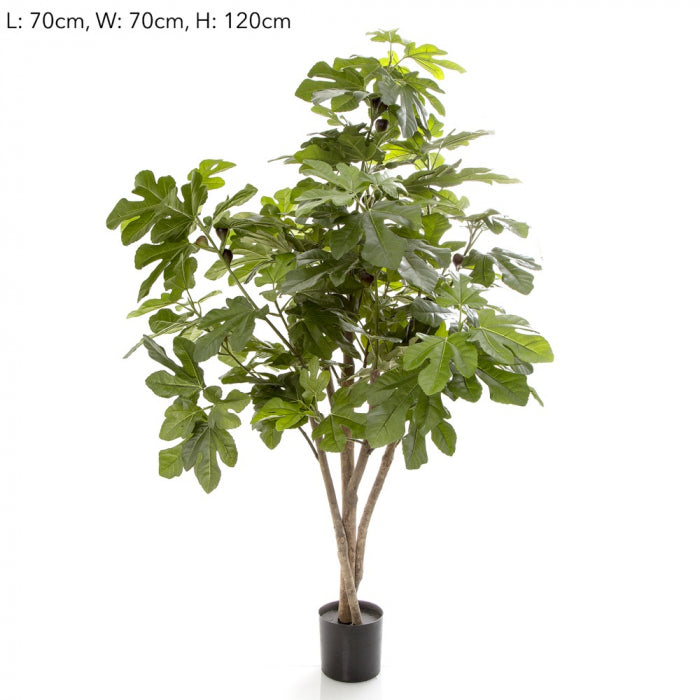Artificial 70cm Fig Tree w/158 Lvs 44 Fruits - House of Isabella AU