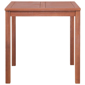 vidaXL Garden Table 80x80x74 cm Solid Acacia Wood