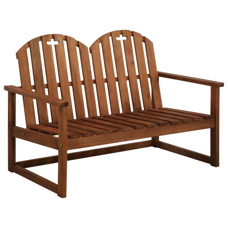 vidaXL Garden Bench 110 cm Solid Acacia Wood - House of Isabella AU