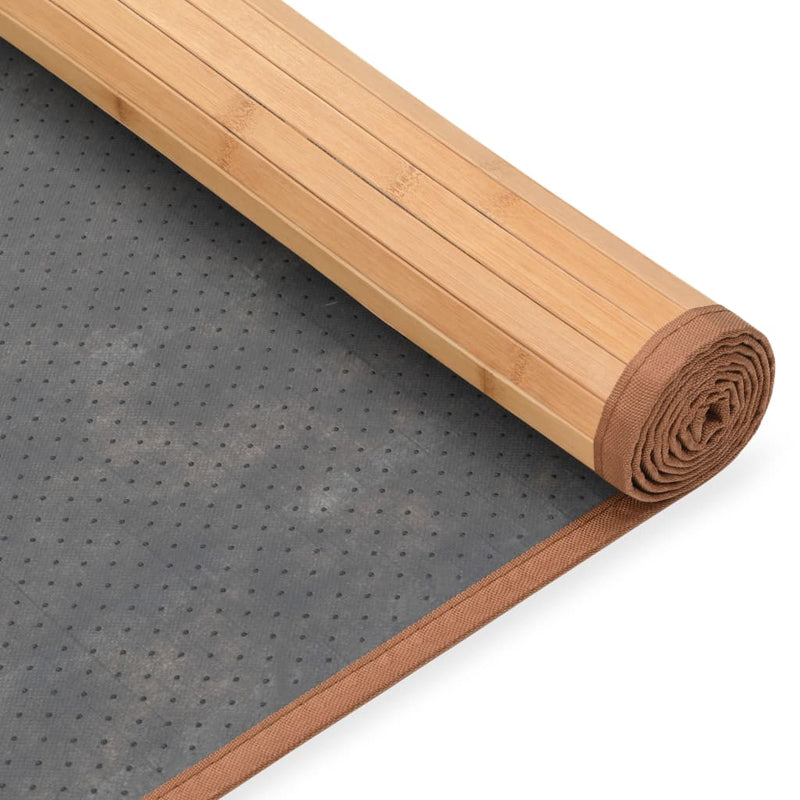 vidaXL Rug Bamboo 80x300 cm Brown - House of Isabella AU
