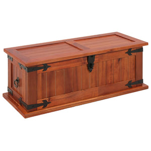 vidaXL Storage Chest 60x25x22 cm Solid Acacia Wood