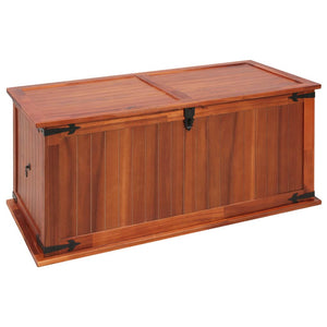 vidaXL Storage Chest 79x34x32 cm Solid Acacia Wood