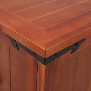 vidaXL Storage Chest 90x45x40 cm Solid Acacia Wood