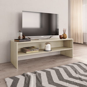 vidaXL TV Cabinet Sonoma Oak 120x40x40 cm Chipboard
