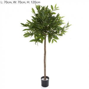 Artificial 1.2m Dracena Surculosa Ball Tree w 633 L