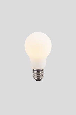 A60 LED Filament - Porcelain Frosted - 6W E27 2700k