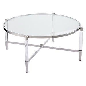Floating Coffee Table Silver