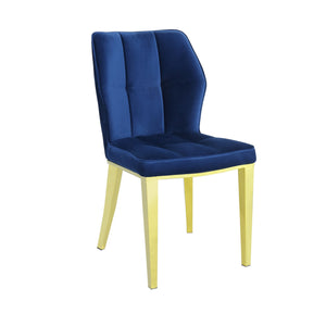 Ghibli Dining Chair Gold/Navy (Set of 2)
