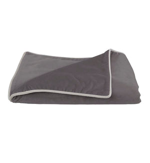 Soho Velvet Throw - Christian Grey