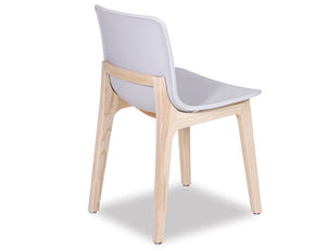 Ara Chair - Natural - Light Grey Shell