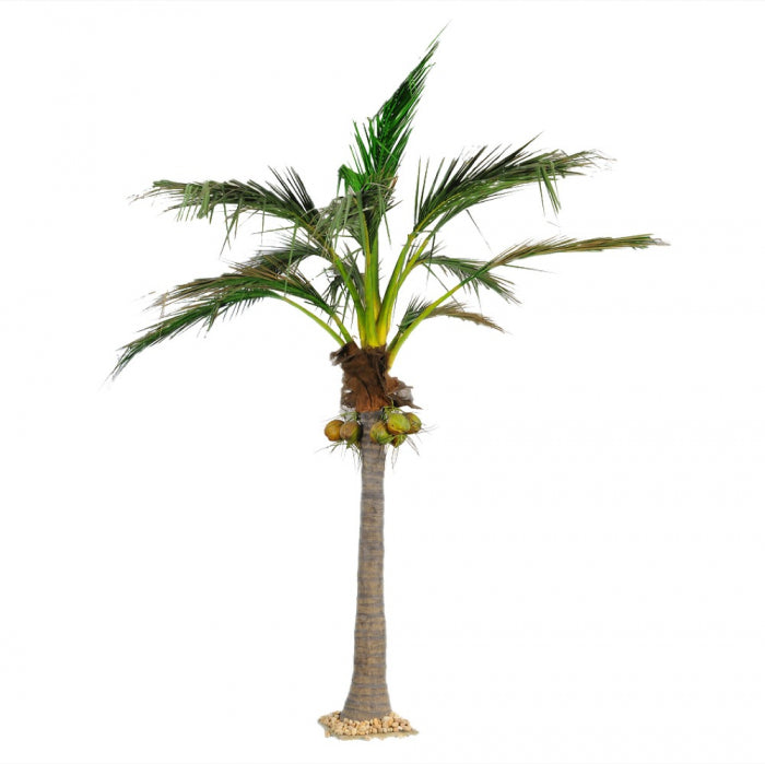 Artificial 5.9M Giant Coconut Palm 1348Lvs 7 Fruits - House of Isabella AU