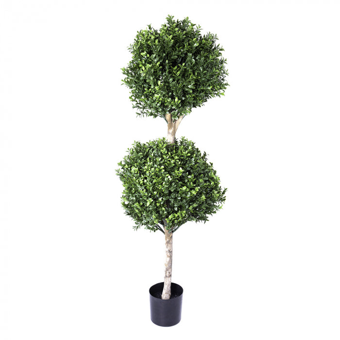 Artificial Boxwood Double Ball Tree 1.1m (re B35) - House of Isabella AU