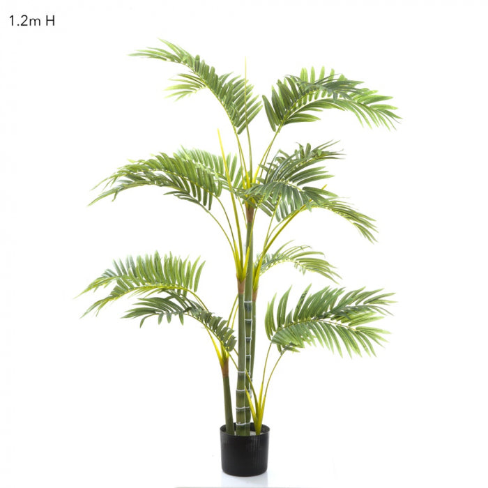 Artificial Areca Palm Multi Trunk 1.2m - House of Isabella AU
