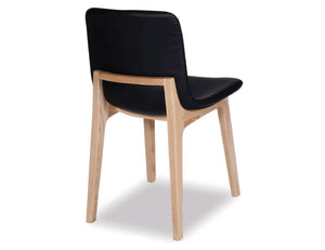 Ara Chair - Natural - Black Pad