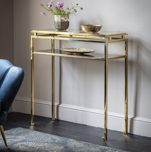 Connie Console Table Gold