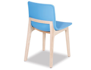 Ara Chair - Natural - Blue Shell