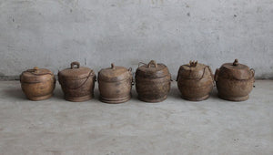 Yunnan Coconut Wood 100 Year Food Container (Big)