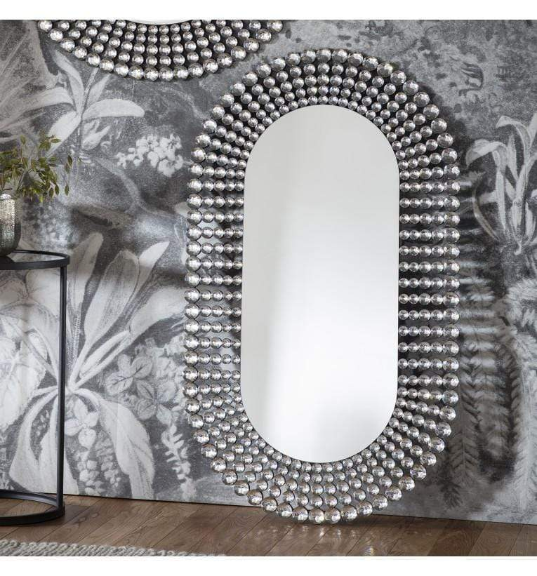 Sharrington Oval Mirror - House of Isabella AU