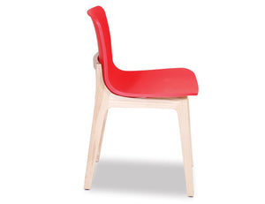 Ara Chair - Natural - Red Shell