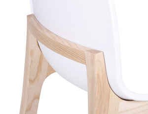 Ara Chair - Natural - White Shell