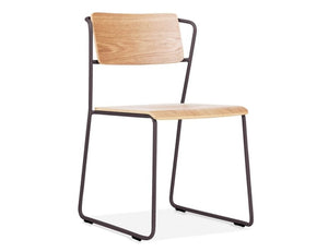 Krafter Chair - Black - Oak