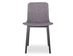 Ara Chair - Black - Charcoal Fabric