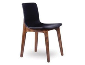 Ara Chair - Walnut - Black Pad