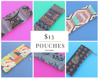 9 Ways to Use the African Print Pouch