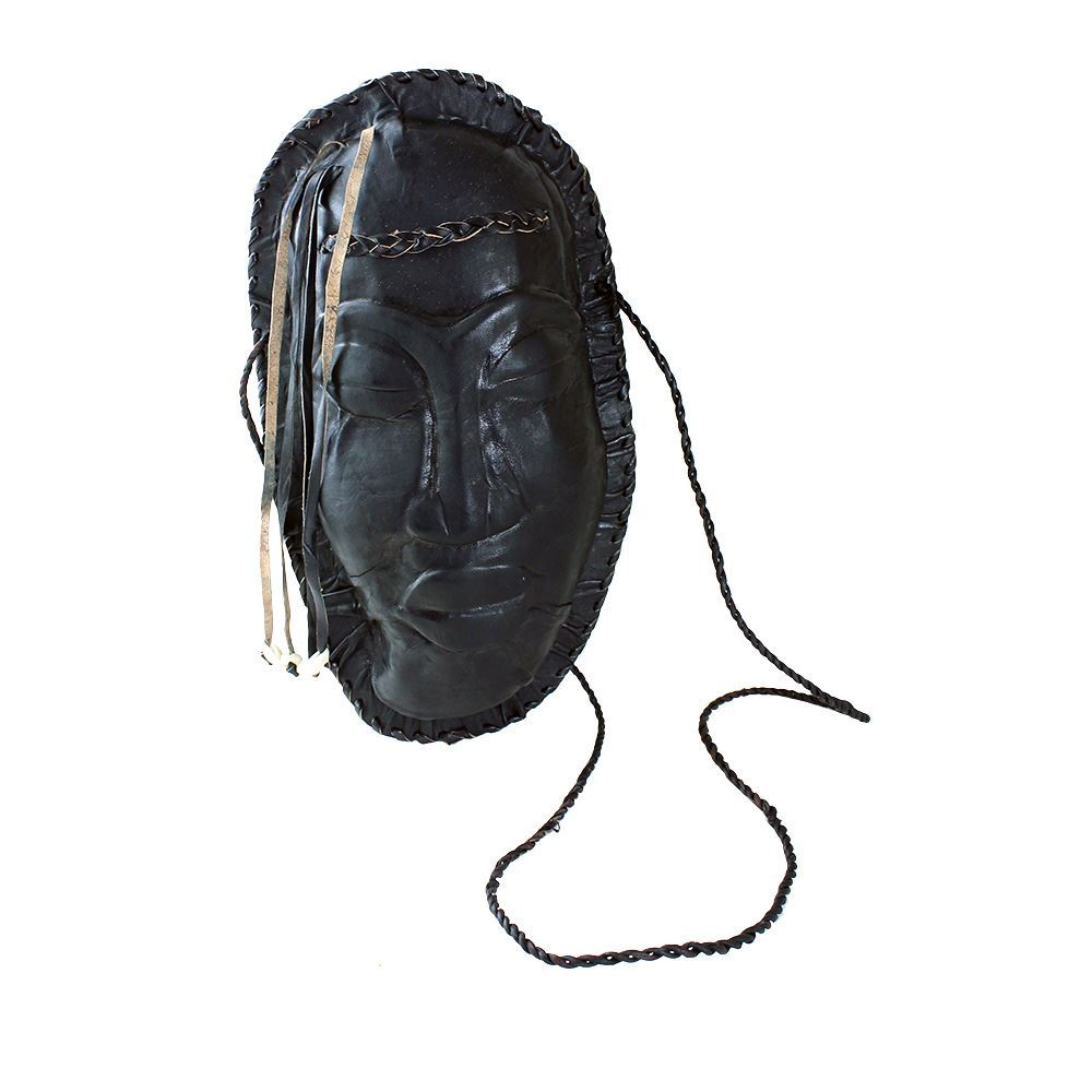 Ethnic Face Leather Purse (Made in Gambia 🇬🇲)