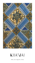 Load image into Gallery viewer, Kiia'jai African Print Bandana