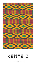 Load image into Gallery viewer, Kente 2 African Print Bandana