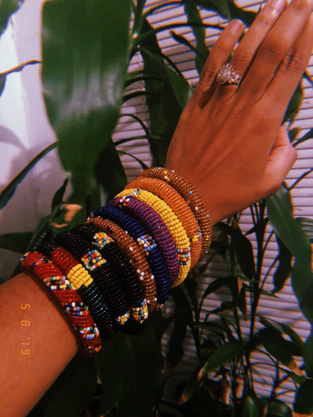 Maasai Beaded Bracelets (Made in Kenya 🇰🇪)