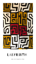 Load image into Gallery viewer, Labyrinth African Print Bandana