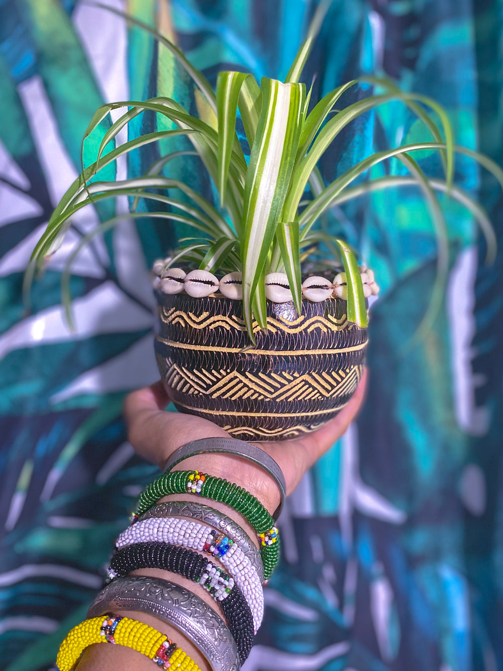 Gourd Calabash Planter Bowl (Made in Kenya 🇰🇪)