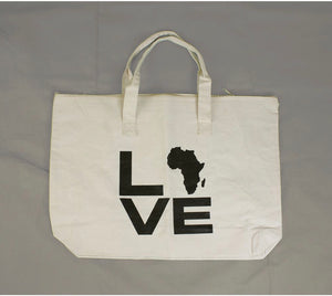 Motherland Love Canvas Tote