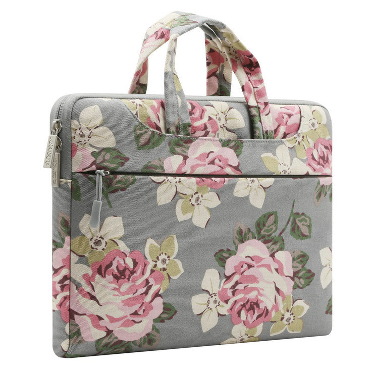 The Charlotte Laptop Case - Rose Gray