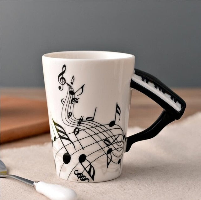 Song for You Coffee Mug Collection - Piano