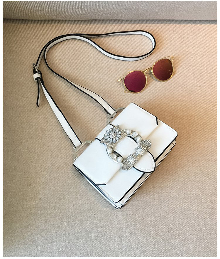 Avri Mini Crossbody Purse - White