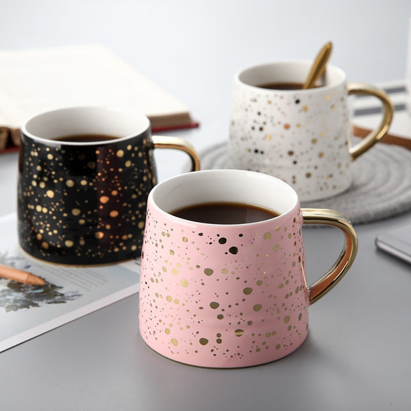 Millennial Gold Coffee Mug Collection
