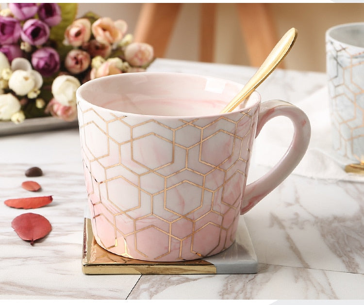 Stormy Rose Coffee Mug Collection