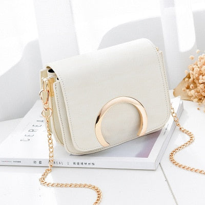 Bella Shoulder Bag - White